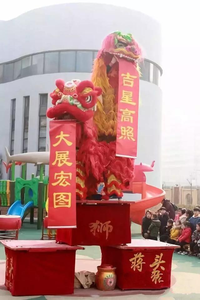 荥阳王村蒋头舞狮